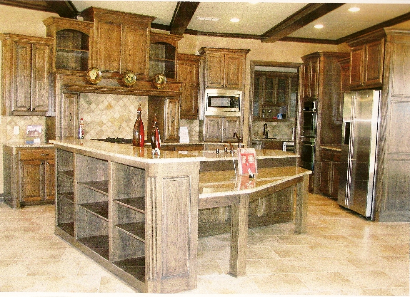 Wonderful image of experience in creating beautiful residential cabinetry and functinal  with #AD321E color and 1394x1011 pixels